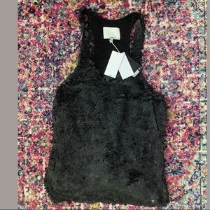 NWT 3.1 Phillip Lim Black Sequin Shimmy Tank Top 8